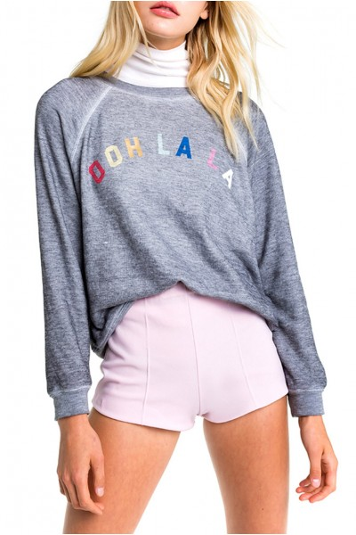 Wildfox - Women's Ooh La La Sommers Sweater - Heather