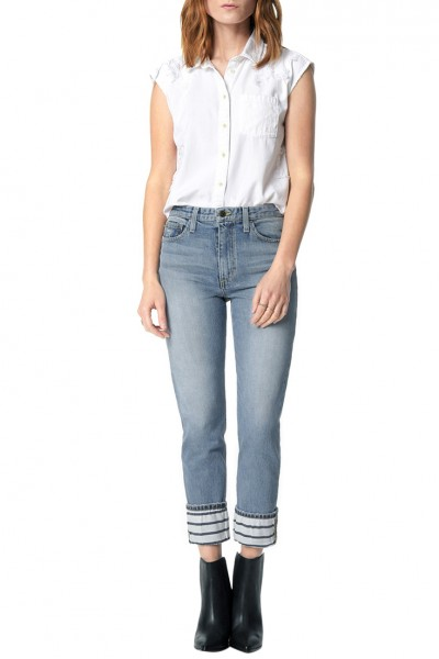 Joe's -  The Debbie High Rise Straight Crop - Parsons