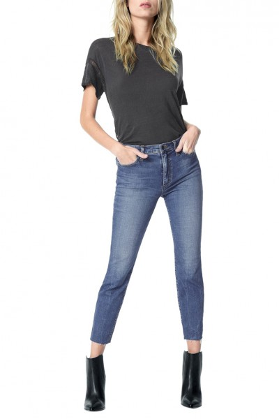 Joe's - Women's The Charlie High rise Skinny Crop - Kahlo