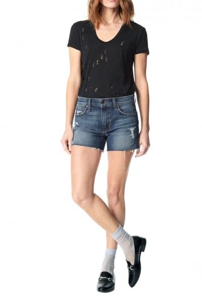 Joe's - Women's Ozzie Midrise Cut-off Short Denim - Rami