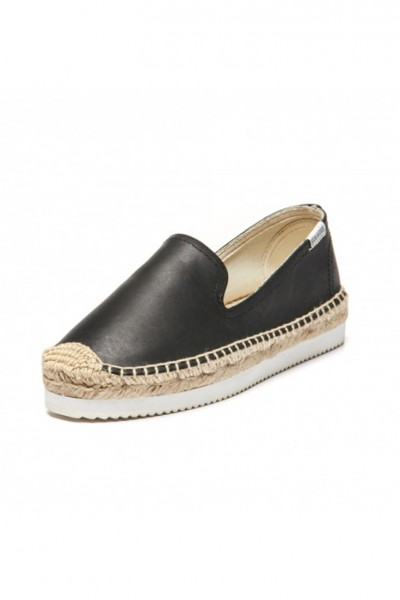 Soludos -  Somking SM Mix Sole Platform Slipper - Black