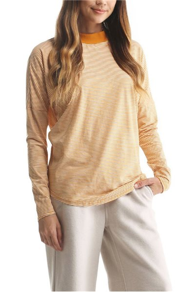 Publish Brand - Women's Cotton Mock Neck Katie Pullover - Mustard