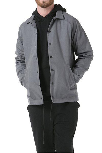 Publish Brand - Men's Knit Coach Jacket - Grey