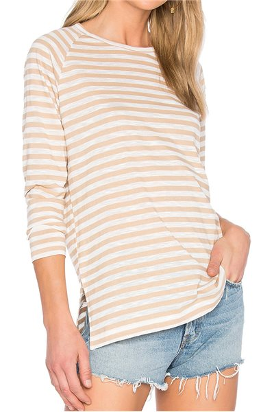 Publish Brand - Women's Knit Top Blanch Long Sleeve - Sand