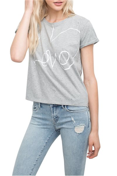 Generation love - Women's Sterling Love Tee - Grey