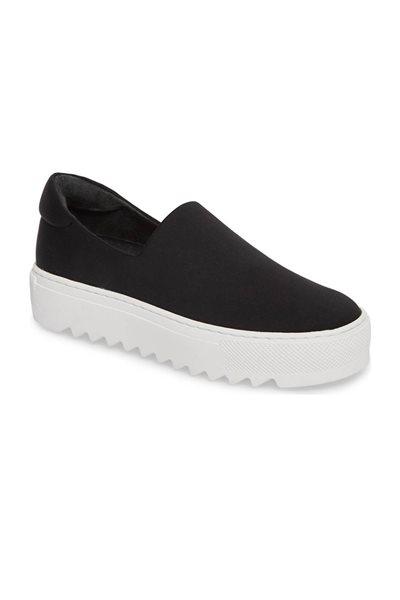 Jslides - Sage Platform Slip On Sneaker - Black