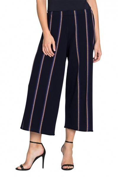 Nic + Zoe - Women's Lined Up Knit Pant - Multi