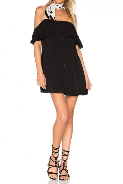 Privacy Please - Women's Norval Dress - Black