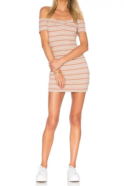 Privacy Please - Women's Coolidge Dress - Camel