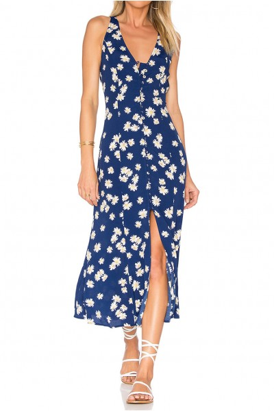 Privacy Please - Women's Lomax Dress - Navy