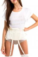 Wildfox - Women's Let's Stay In Manchester Tee - Clean White