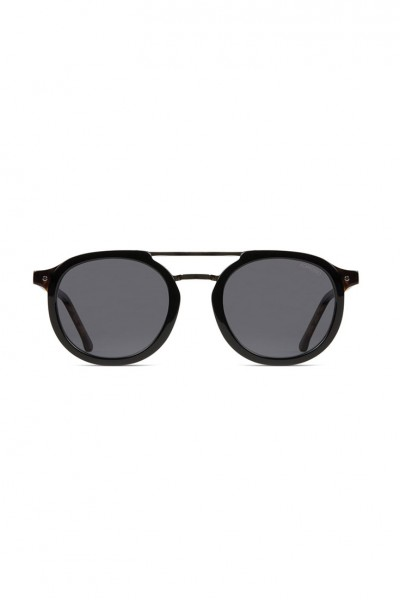 Komono - The Gilles Acetate Sunglasses - Black Tortoise