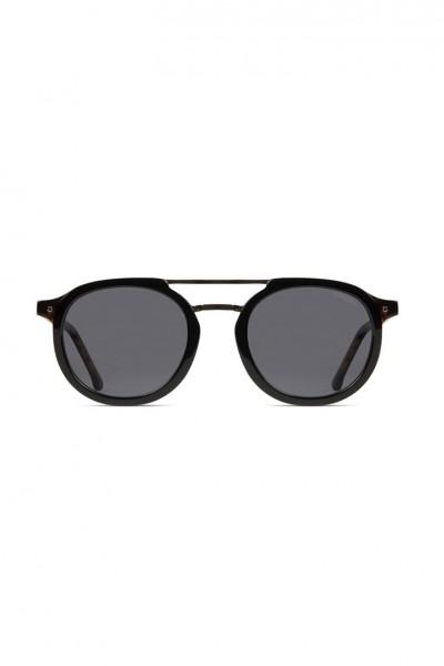Komono - The Gilles Acetate Sunglasses - Black Tortoise