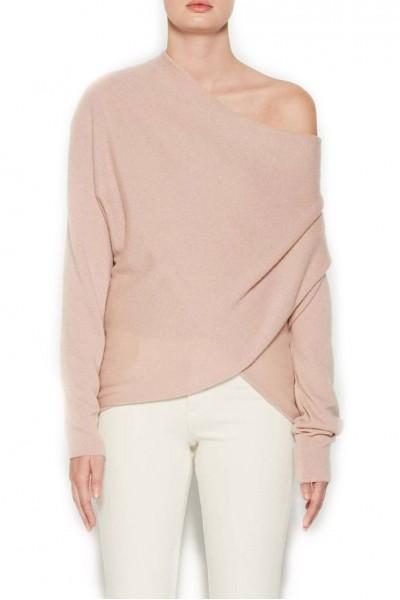 Brochu Walker - Women's Clea Off Shoulder Pullover - Rosebay