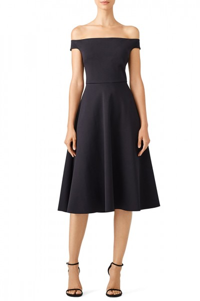 Trina Turk - Women's Black Whitman Dress - Black