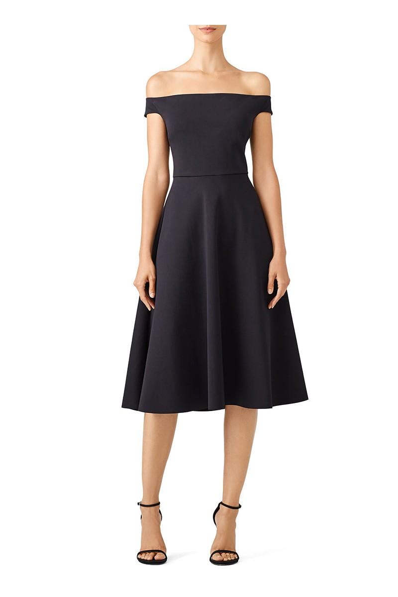 Trina Turk - Women's Black Whitman Dress - Black