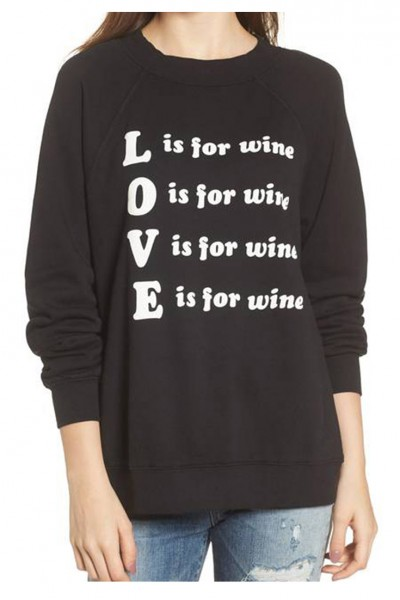 Wildfox - Women's Wino Top - Black