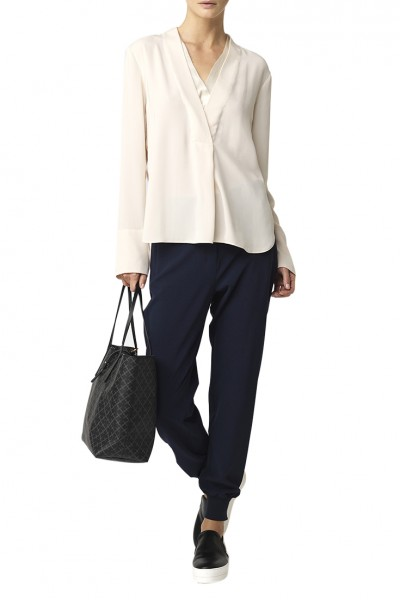 Malene Birger - Womens Ieta Trousers - Navy Blazer