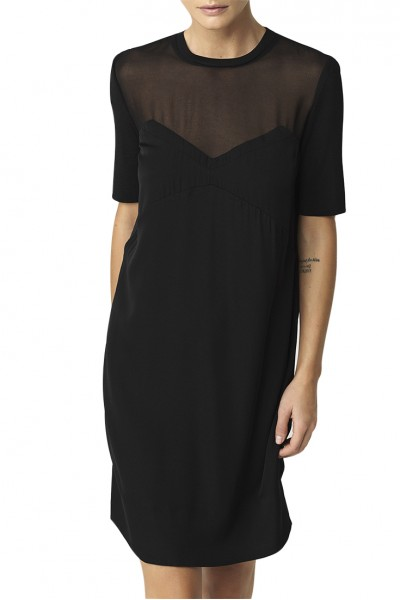 Malene Birger - Womens Eliska Dress - Black