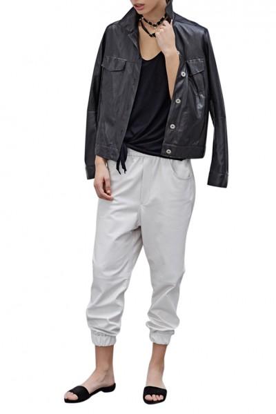 Sack's - Din Leather Jacket - Black