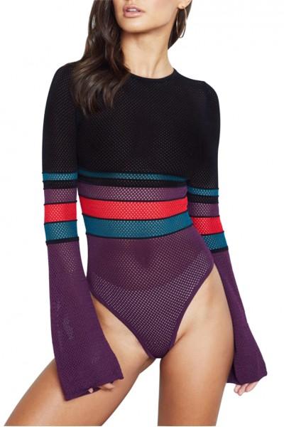 Ronny Kobo - Chani Belle Bodysuit - Multi - Color