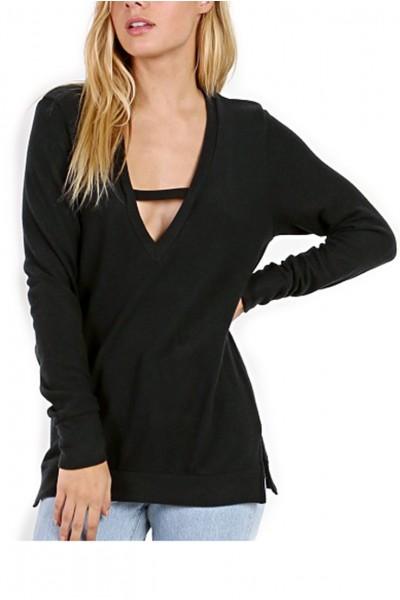 LNA - Women's Vetica Sweater - Vulcan