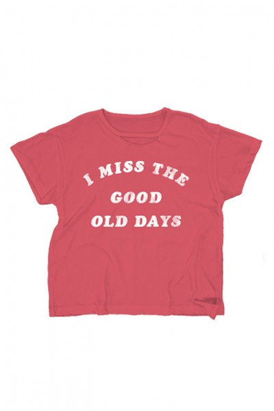 Wildfox - Women's Old Days Tee - Red Flare