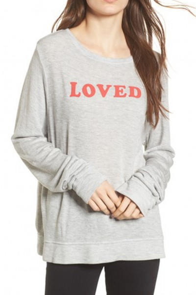 Wildfox - Women's Loved Sweatshirt - Heather
