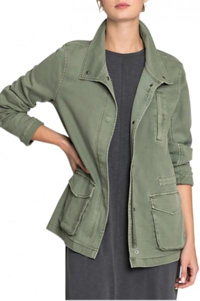 Nic+Zoe - Women's Modern Utility Jacket - Spring Moss