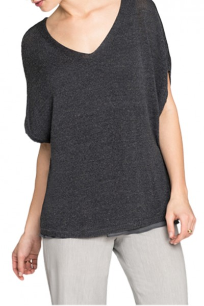 Nic+Zoe - Women's Lived In Top - Ink