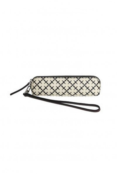 Malene Birger - Printed Purse - Soft White