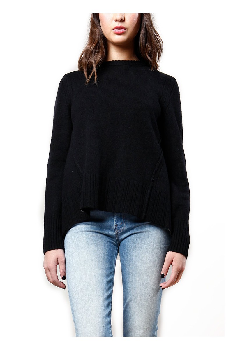 Brochu Walker - Keller Layered Pullover - Black Onyx