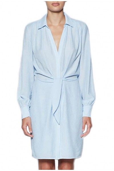 Brochu Walker - Women's Madsen Shirt Dress - Blue