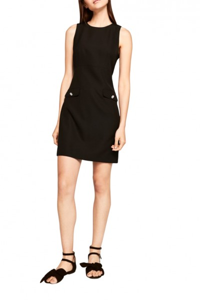 Tara Jarmon - Women's Taliored Dress - Black