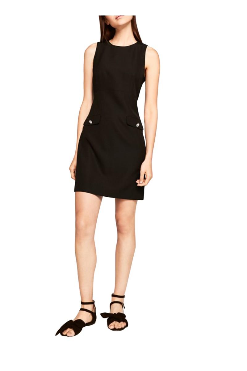 Tara Jarmon - Women's Taliored Dress - Black