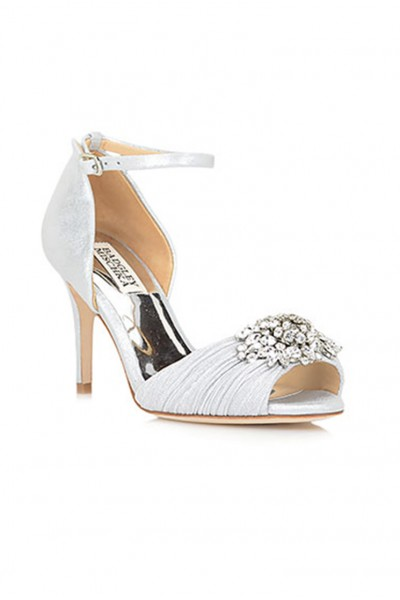 Badgley Mischka - Women's Sabrina Ankle Strap Evening Shoe - Ivory