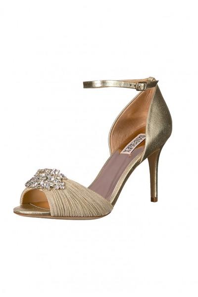 Badgley Mischka - Women's Sabrina II Heeled Sandal - Platino