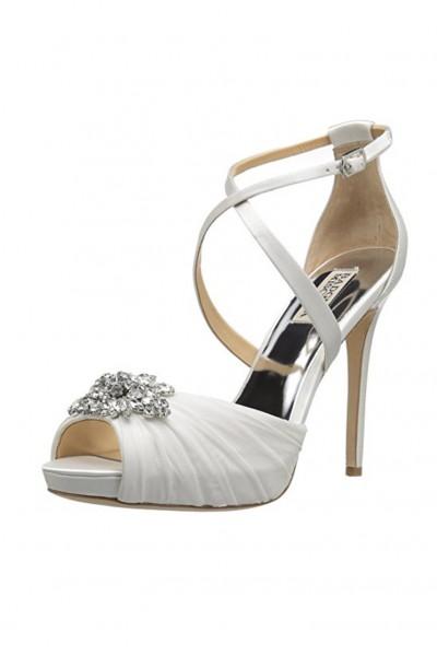 Badgley Mischka - Women's Sadie Heeled Sandal - White