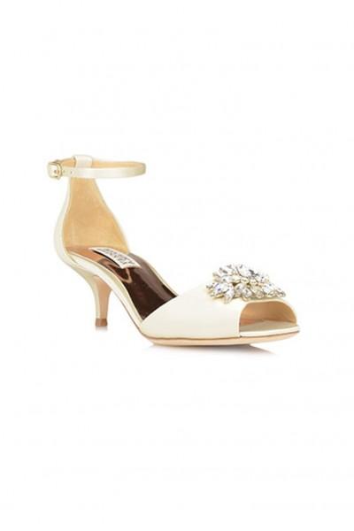 Badgley Mischka - Women's Sainte Ankle Strap Evening Shoe - Ivory