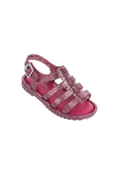 Mini Melissa - KidsFlox Sandals - Glitter Pink