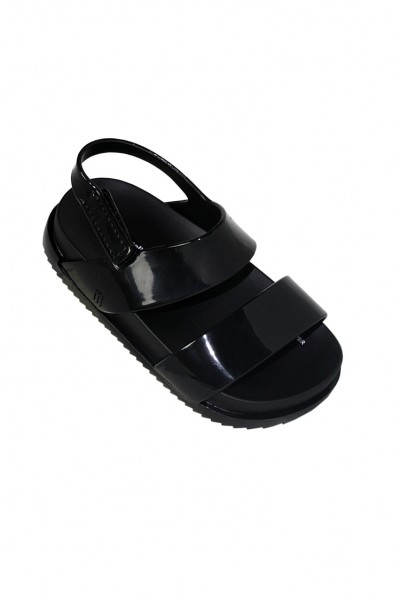 Mini Melissa - Kids Cosmic Sandal Preto - Black
