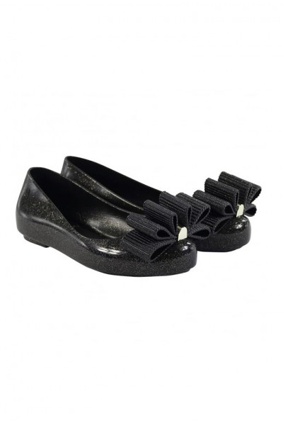 Mini Melissa - Kids Space Love + Jason Wu - Black Glitter