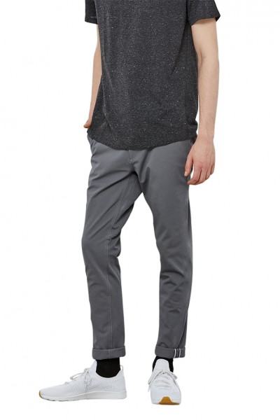 State Concepts - Men's High Stretch Pace Commuter Bike Pant - Dark Grey