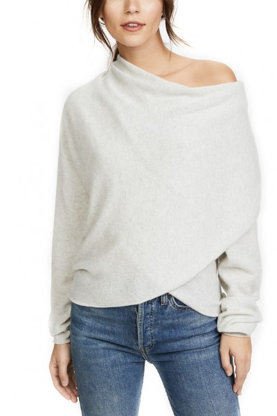 Brochu Walker -  Clea Off Shoulder Sweater - Vapor Melange