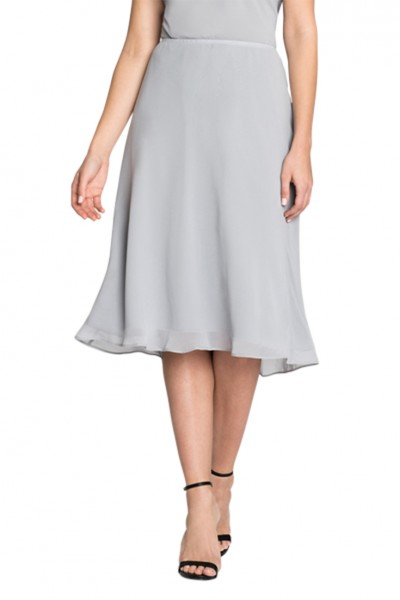 Nic+Zoe - Women's Paired Up Skirt - Zinc