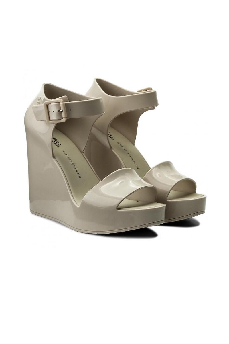 9842c4cf8d Melissa - Women's Melissa Mar Wedge Ad Sandals - Beige