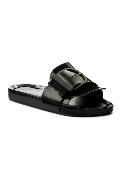 Melissa - Women's Beach Slide IV Ad - Black