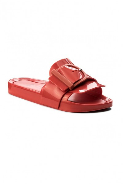 Melissa - Women's Beach Slide IV Ad - Red