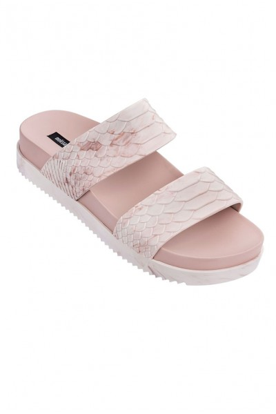 Melissa -  Cosmic Python + Baja East Ad Slides - Light Pink