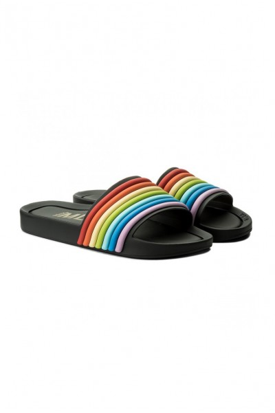 Melissa -  Beach Slide 3DB Rainbow Ad - Black Rainbow